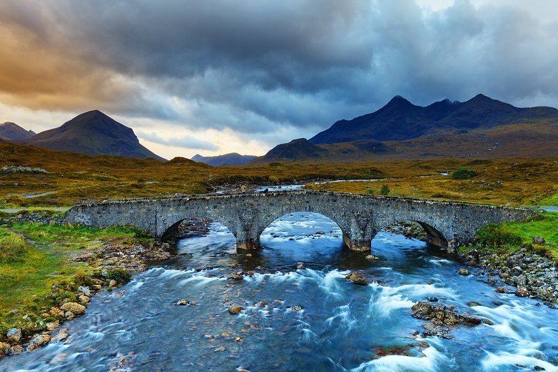 Highlands in Scotland.